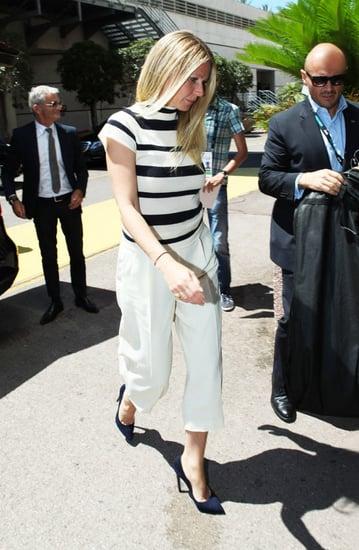 Gwyneth Paltrow Demonstrates A Chic Alternative To Summer Denim