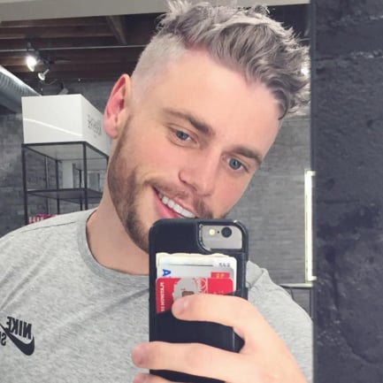 Men Dyeing Their Hair Grey Trend