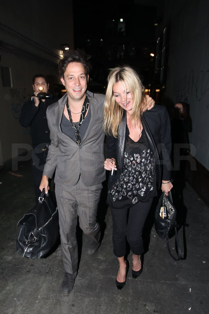 Kate Moss Accompanies Her Husband, Jamie, on His Tour Down Under