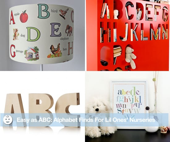 Alphabet-Themed Nurseries