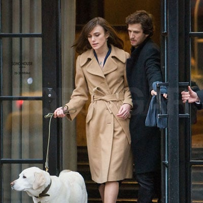 Keira Knightley and Guillaume Canet Film Last Night