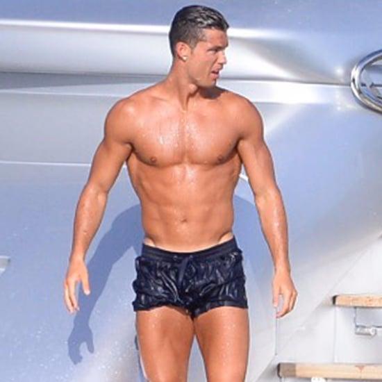 Cristiano Ronaldo's Vacation in Formentera, Spain, July 2016