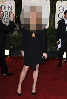 Celebrity Mothers at the Golden Globes