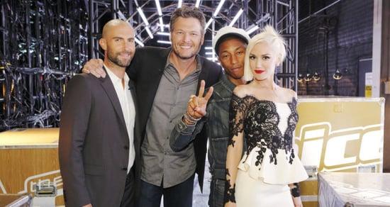 'The Voice' Coaches Blake Shelton & Gwen Stefani Are Dating