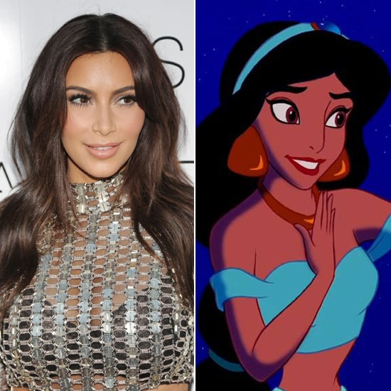 Does Kim Kardashian Look Like Jasmine From Aladdin?