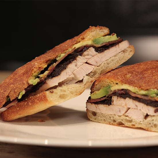 Turkey, Bacon, and Avocado Sandwich Recipe
