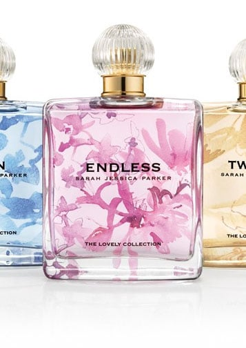 Sarah Jessica Parker Lovely Fragrance Collection — New Perfumes are Endless, Twilight, and Dawn