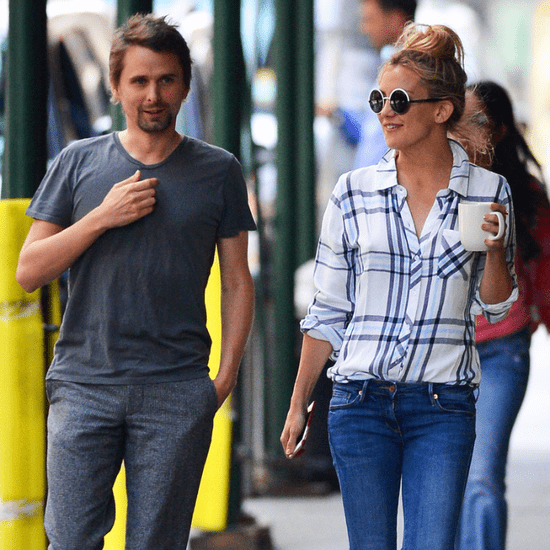 Kate Hudson and Matthew Bellamy Getting Coffee in NYC