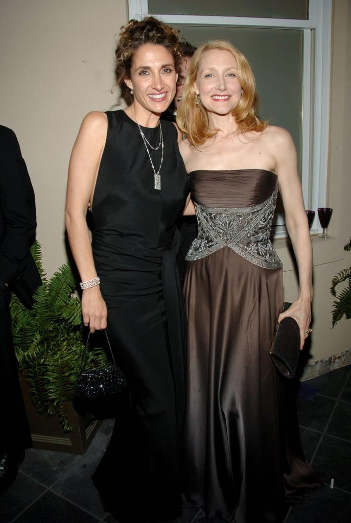 Melina Kanakaredes and Patricia Clarkson