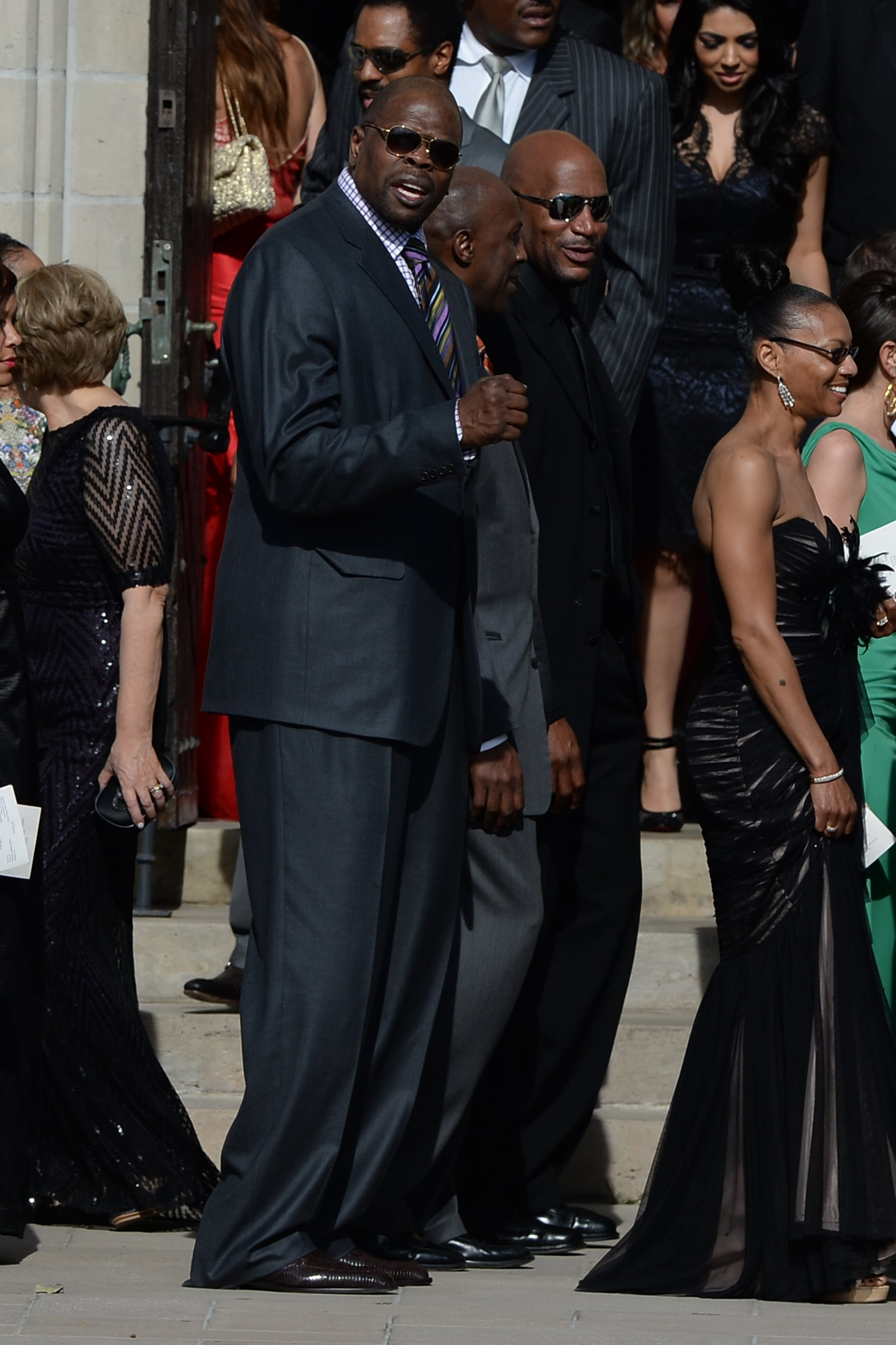 Hall of Fame basketball star Patrick Ewing attended Michael Jordan's wedding.