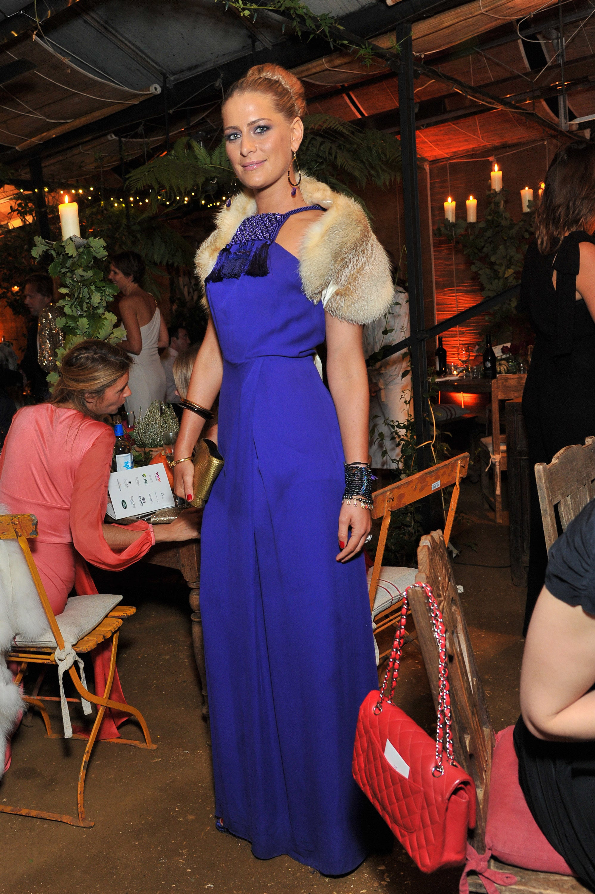 Princess Tatiana at an All Saints charity event in England.