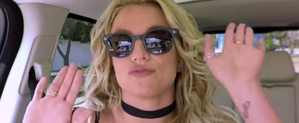 Britney Spears Gets Down With James Corden During Carpool Karaoke