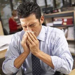 Men More Likely to Catch Colds Due to Workplace Stress