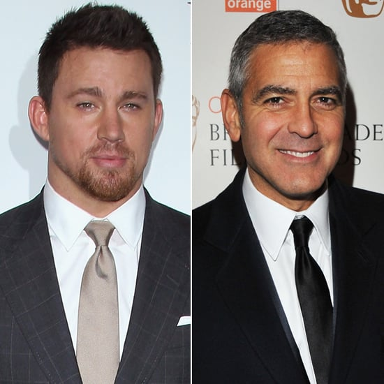 """Channing Tatum's man crush may be predictable, but what's not predictable is how candidly Channing admitted his feelings. During an interview with The Sun in 2013, Channing might have been a little too forthcoming about his thoughts on George Clooney: """"I've spent time with George Clooney, and he's the most interesting man on the planet. He can do it all. I guess what I'm saying is I'd have sex with him."""""""