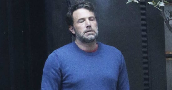 A Miserable Gallery of Ben Affleck Smoking Through the Pain of Existence