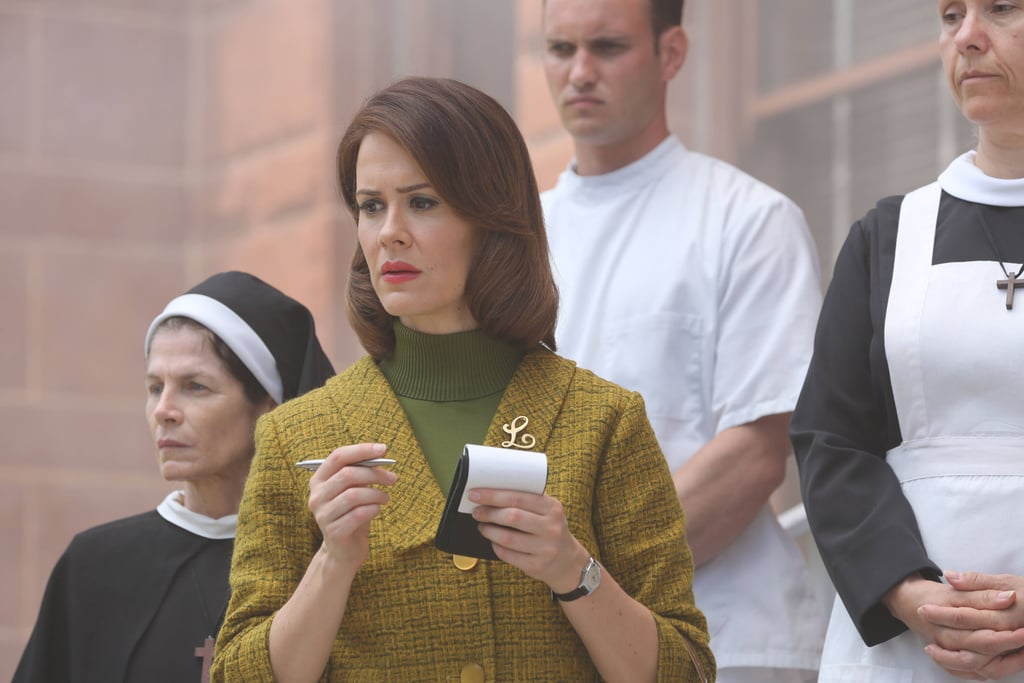 Paulson as Lana Winters in Asylum