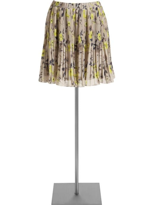 A sweet print meets prim knife pleats — for under $40.   Old Navy Micro-Pleat Full Skirt ($35)