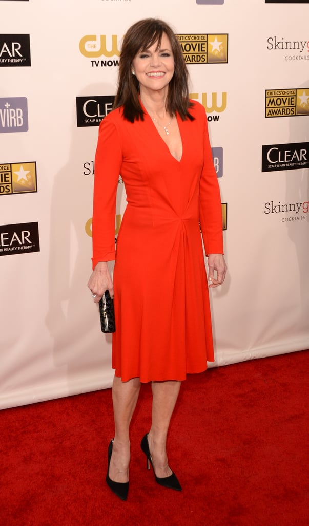 Sally Field stepped onto the red carpet at the Critics' Choice Awards.