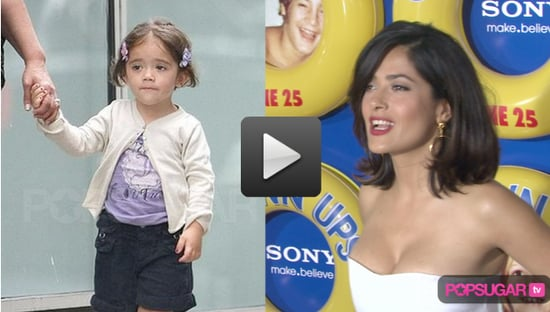 Video: Salma Hayek Gushes About Valentina at Grown Ups Premiere
