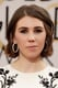 Zosia Mamet revealed a pair of megawatt diamond hoops.