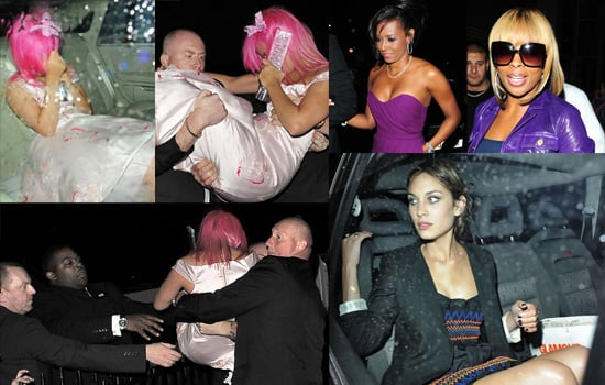 Lily Allen Is Carried To Her Car, And Other Departures From The 2008 Glamour Women Of The Year Awards