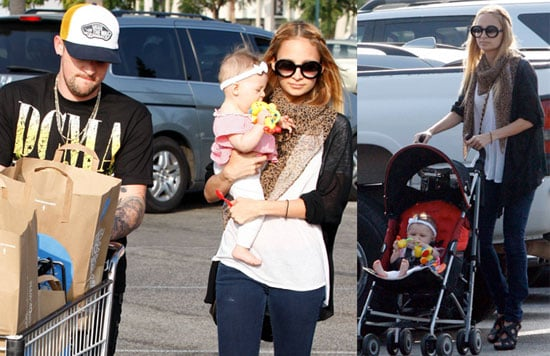 Photos of Nicole Richie, Joel Madden, Harlow Madden at Whole Foods in LA After Nicole Smashed A Girl's Camera in NYC