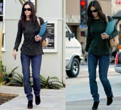 The Skinny on Courteney Cox
