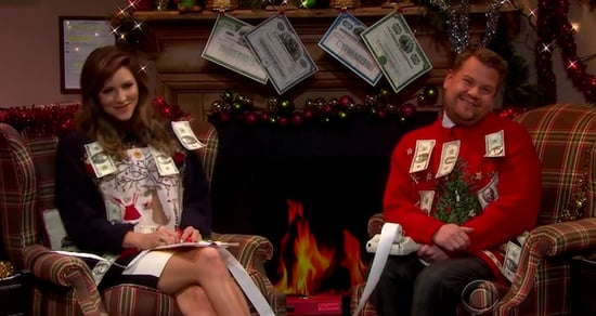 Best of Late Night TV: Naomi Campbell's Runway Walk with James Corden and Katherine McPhee's Tax Day Carol (VIDEO)