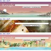 iGoogle, Google Chrome and Gmail Themes From Google