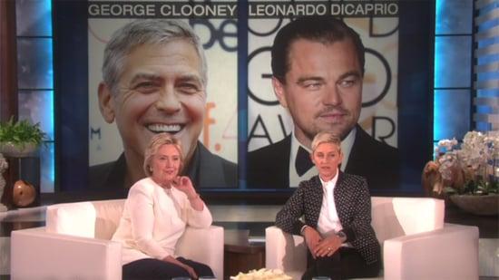 Hillary Clinton Plays 'Who'd You Rather?' on 'Ellen,' Picks Tony Goldwyn Over Bernie Sanders , Talks Beyonce's 'Lemonade'