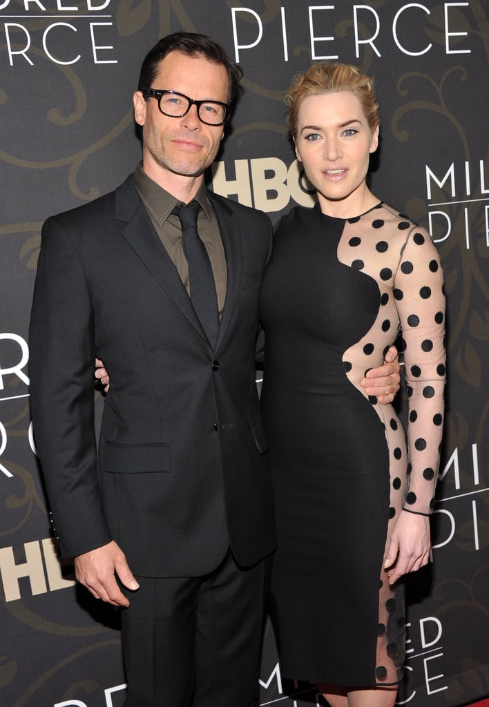 Guy Pearce and Kate Winslet