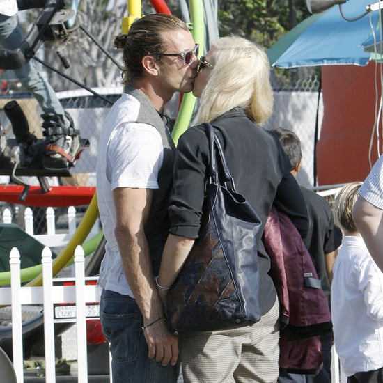 Gwen Stefani and Gavin Rossdale at Pumpkin Patch | Pictures