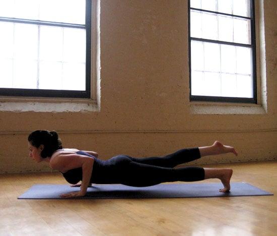 How to Do One-Legged Four-Limbed Staff Pose