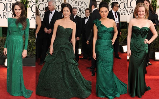 Green Dresses at the 2011 Golden Globe Awards 2011-01-16 19:01:05