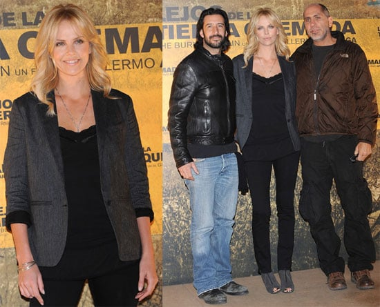 Photos of Charlize Theron at The Burning Plain Premiere, Recently Said She Wants to Do Romantic Comedies