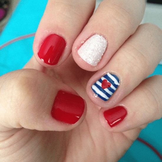 July 4 Independence Day Nail Inspiration
