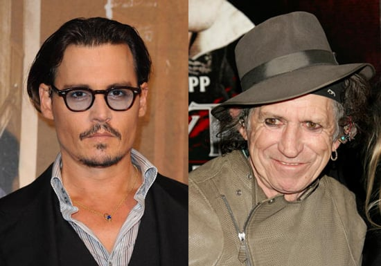 Johnny Depp to Direct Documentary About Keith Richards Confirmed 2010-02-05 10:29:48