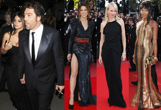 Pictures of Biutiful Premiere at Cannes Film Festival Javier Bardem, Penelope Cruz, Naomi Campbell, Naomi Watts, Kate Beckinsale