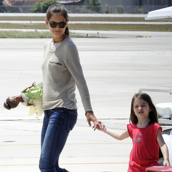 Katie Holmes and Suri Cruise Pictures in Miami