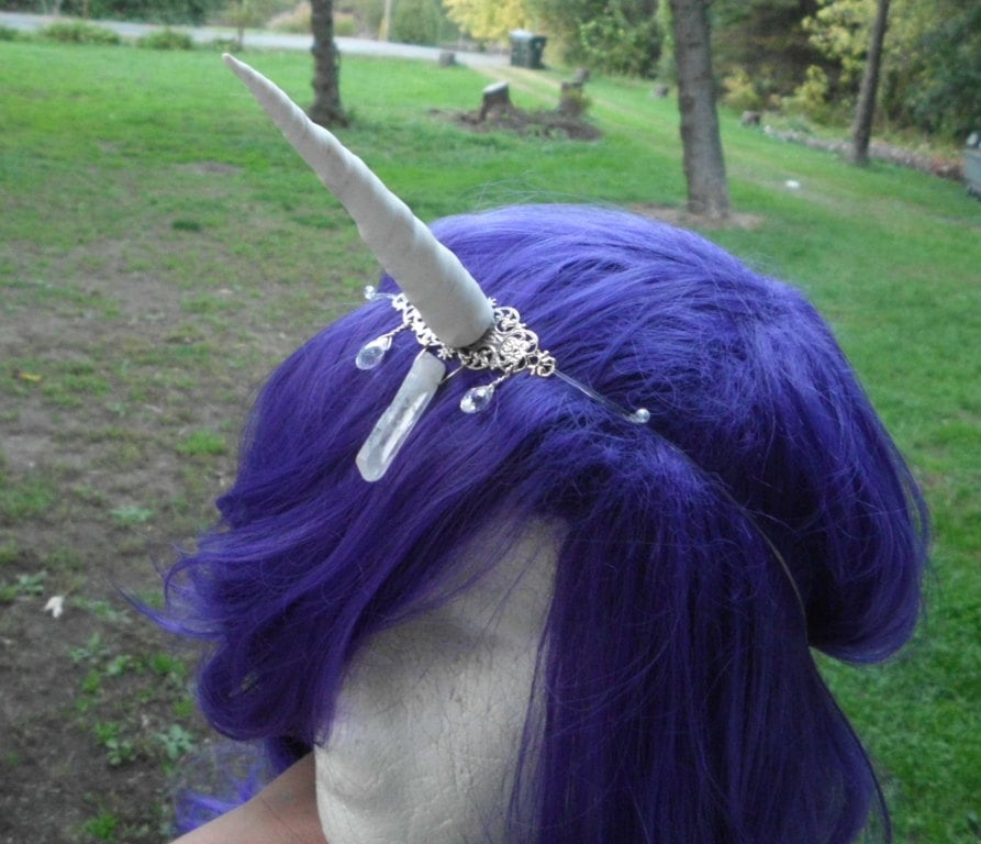 Put on this whimsical headband ($35), and you're instantly a unicorn for Halloween!