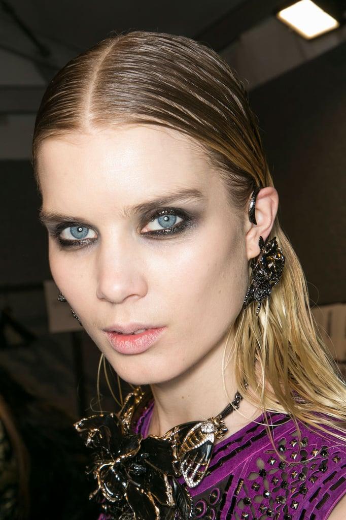 The Makeup at Roberto Cavalli, Milan