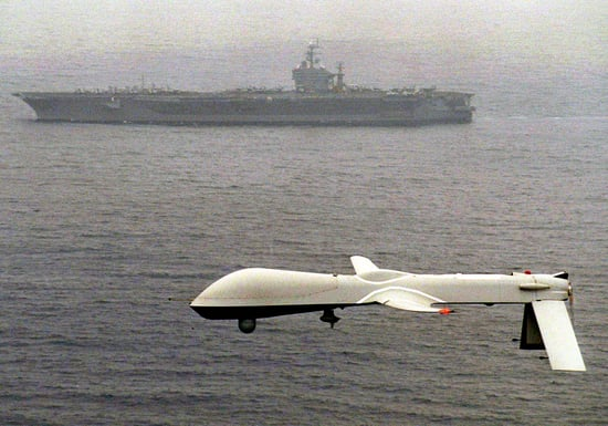 US Using High-Tech Drones to Fight Low-Tech Pirates