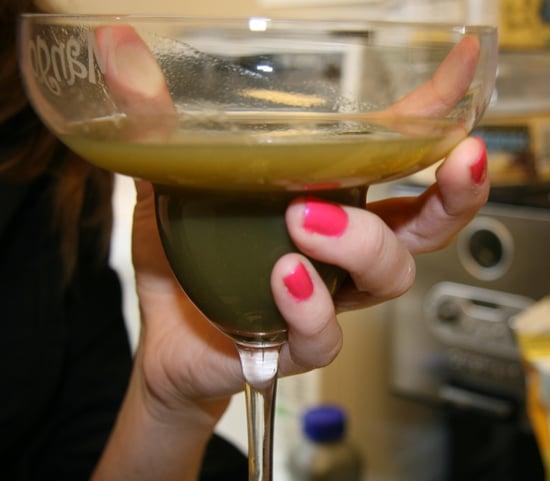 Happy Hour: Green Machine & Vodka