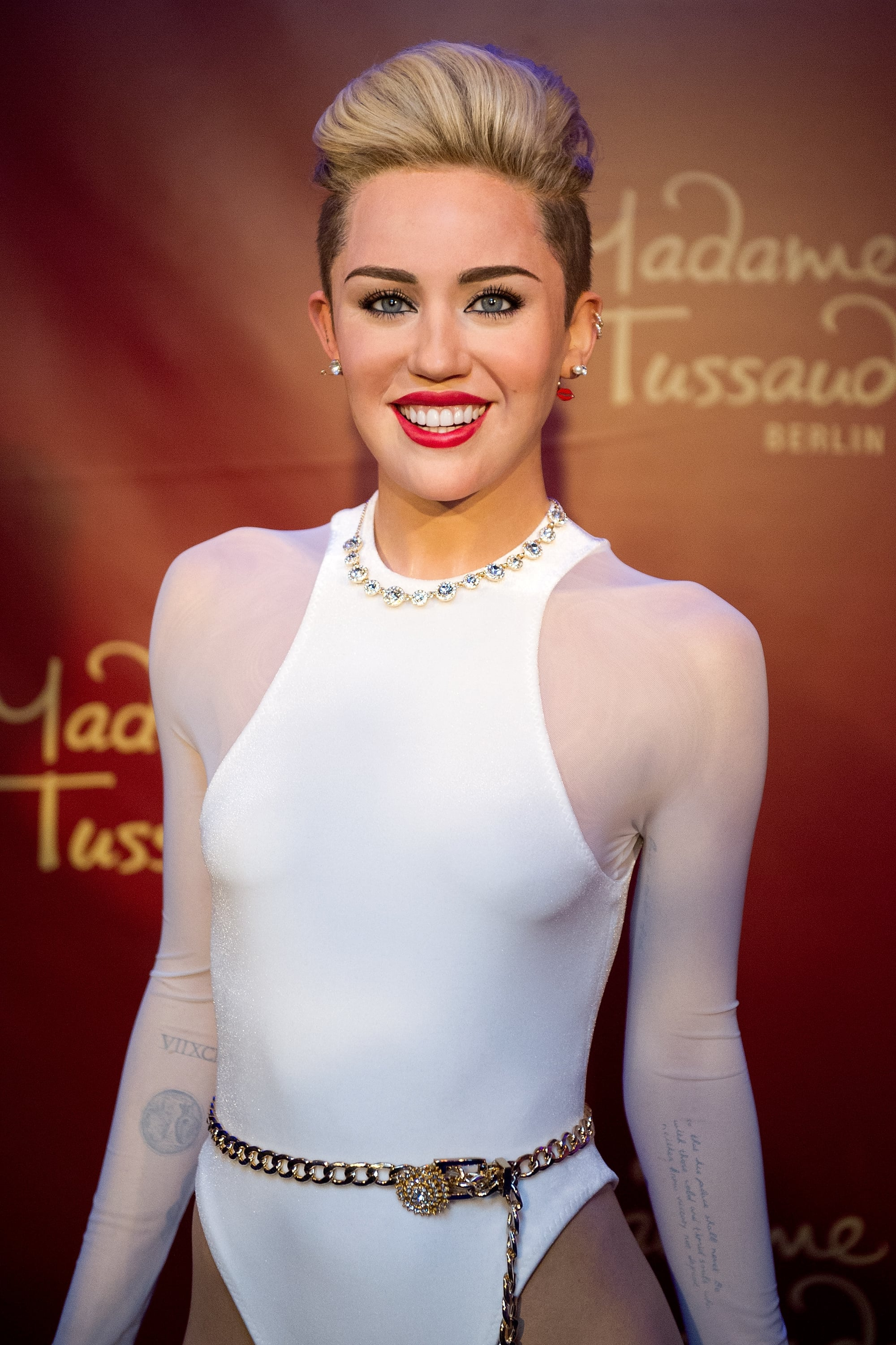Miley Cyrus's Wax Figure Looks Scarily Real