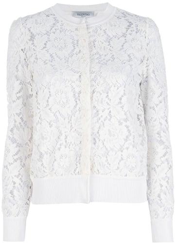 Valentino lace cardigan