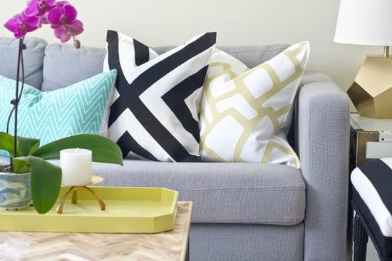 Make a Designer-Look Pillow Sham for $15 (11 photos)
