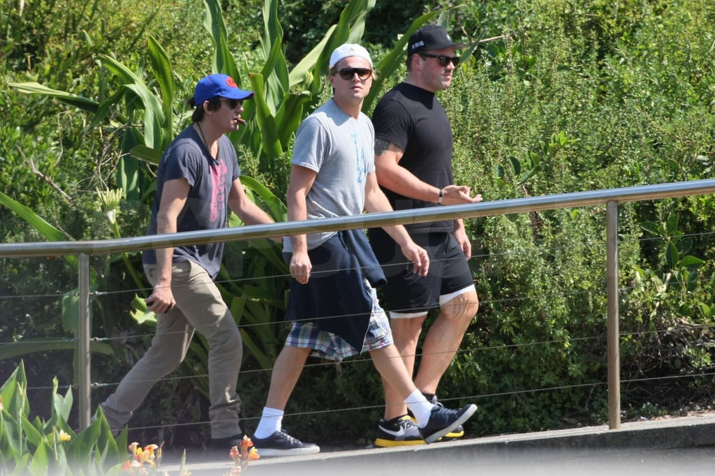 The guys walked over a bridge.