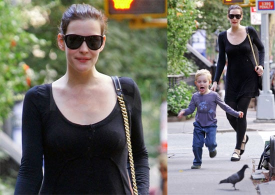 Photos of Liv Tyler With Milo Landon in New York City