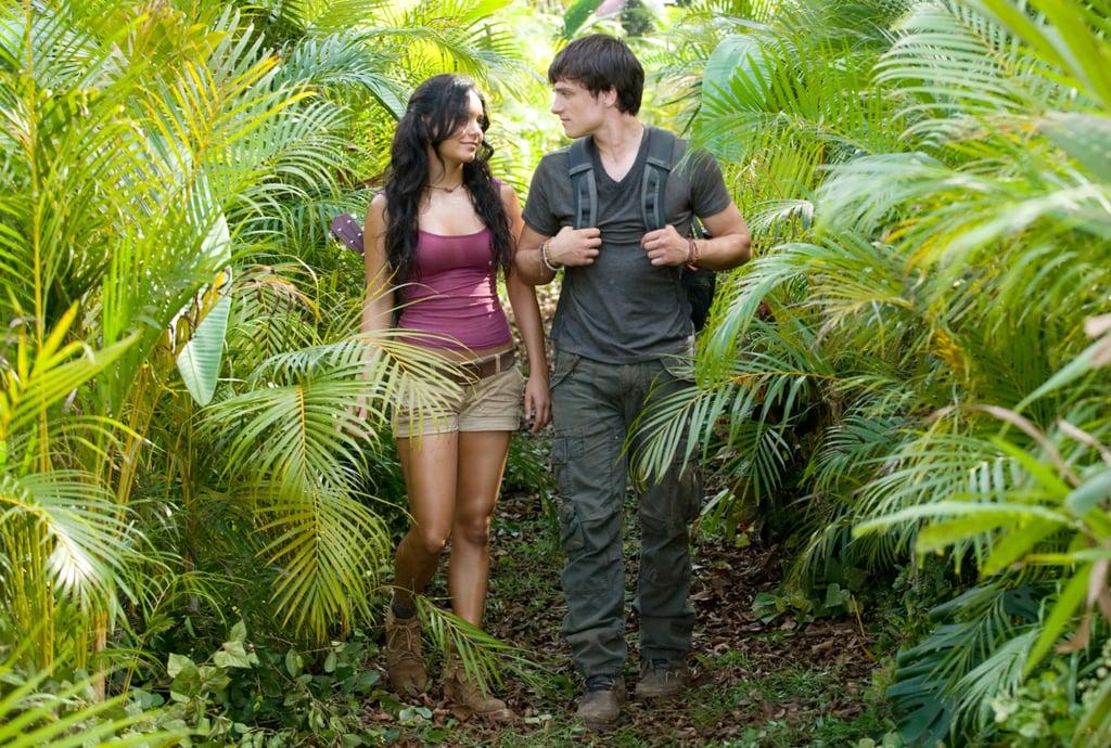 Vanessa Hudgens and Josh Hutcherson, Journey 2: The Mysterious Island