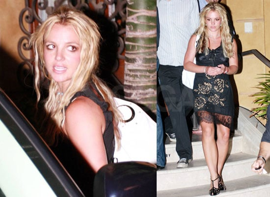Photos of Britney Spears Out in LA at Phil Maloof's Record Label Party